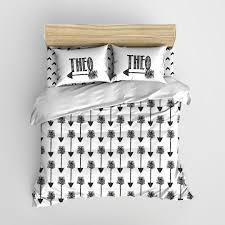 Arrow Crib Bedding by Black And White Tribal Arrows Minimalist Kids Bedding