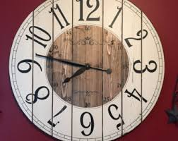 22 Inch Farmhouse Clock