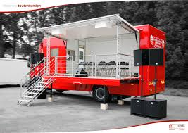 100 Roadshow Trucking Mobile Units Manufacturer Toutenkamion