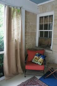 Patio Curtains Outdoor Idea by 101 Best Burlap Curtains Images On Pinterest Burlap Curtains