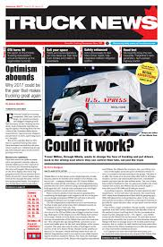 Truck News January 2017 By Annex-Newcom LP - Issuu Trucks On American Inrstates Lone Star College Truck Driving School Best Image Kusaboshicom Tionaltruckingweek Hash Tags Deskgram Fleets Honor Truckings Military Vets With Veterans Day Events Big G Express Otr Trucking Company Transportation Services An All Big Rig A Really Sleeper Berth For Long Planet Freight On Twitter Did You Know The First Semitrailer Was Companies In St Louis Mo 2018 Oocl Photo Gallery One Of Schools To Receive Your Cdl Drive Guard Industry Looking Few Good Men