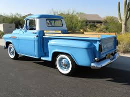1957 Chevrolet 3100 Stepside - Rear | Projects To Try | Trucks ... Chevrolet Other Pickups 3100 Cab Chassis 2door 1957 Chevrolet Collector Truck 6400 Top 10 Trucks Of 2010 Chevy Truck 55 Hot Rod Network Left Side Angle 59 Pick Up For Sale 2199328 Hemmings Motor News Stepside Pickup 3a3104 Pistons Pinterest Engine Install Duncans Speed Custom Chevytruck Ct7578c Desert Valley Auto Parts Rare Apache Shortbed Original V8 Big