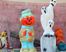 Vintage Halloween Blow Molds Craigslist blow mold etsy