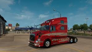 100 Truck Shop Volvo VNL V141 ATS Mod American Simulator Mod