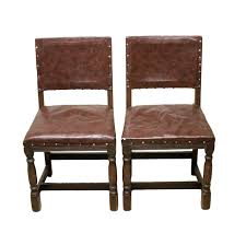 Pair Of 19th Century Antique Oak Dining Chairs Upholstered In Real ... 17 Stories Belmiro Modern Genuine Leather Upholstered Ding Chair Industrial Real Black Hayden Range Lea009 Siena Natural James Lane Fniture Shop Tstitch Chocolate Brown Bonded Set Of 6 Amazoncom We Faux Chairs 2 Marianna Cream With Solid Oak Legs White Leather Ding Chairs Dataskerco Monti Danetti Contemporary Chair Upholstered Sled Base Easy Genuine Leather Ding Chairs X 4 Available Wooden You Know It Healey Pu Rubberwood