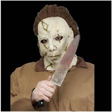 Halloween Resurrection Maske by Licensed Michael Myers Knife Halloween Accessory Mad About Horror