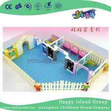 HiRise Wooden Dollhouse And Furniture Set SCHOOLSin