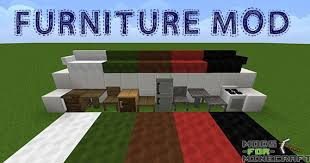 Furniture Mod – Decorate your house with new blocks – Minecraft Mods