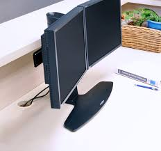 Monitor Stands For Desks Nz by Multi Monitor Mounts Use Multiple Monitors At Your Desk Ergotron