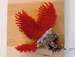 Matches04 Strange Art That Youll Love 80 Cool Examples Of