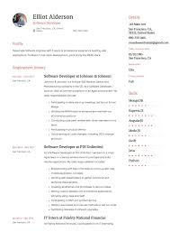 Guide: Software Developer Resume [+12 Samples] | Word & PDF | 2019 Cover Letter Software Developer Sample Elegant How Is My Resume Rumes Resume Template Free 25 Software Senior Engineer Plusradioinfo Writing Service To Write A Great Intern Samples Velvet Jobs New Best Junior Net Get You Hired Top 8 Junior Engineer Samples Guide 12 Word Pdf 2019 Graduate Cv Eeering Graduating In May Never Hear Back From