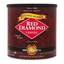 Red Diamond Classic Blend Ground Coffee 345 Oz