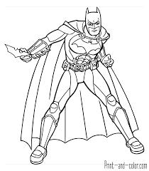 Batman The Dark Knight Coloring Page Batarang