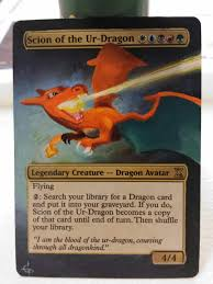 Oloro Commander Deck Ideas by Swanky Jank Alters Charizard Dragon Avatar Addicted To Edh