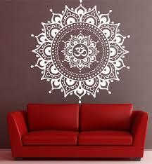 Wall Mural Decals Canada by Mandala Wall Decal Mandala Decal Yoga Om Namaste Yoga Decor