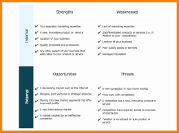 Swot Analysis Spreadsheet Fresh Home Health Business Plan Fresh