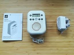 tchibo badradio 367 133 wasserdicht mit bewegungsmelder