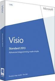 Microsoft Visio Standard 2013 product key Lizengo