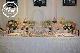 Vintage Shabby Chic Quinceanera Party Ideas