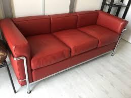 le corbusier canape canapé et fauteuil le corbusier cassina 1974 le corbusier
