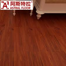 Luxurious Style Red Color Engineered Laminated Flooring