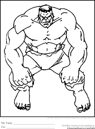 The Avengers Coloring Pages Hulk Pinterest