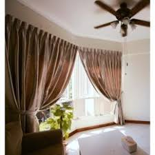 Foil Fringe Curtain Singapore by Curtains Blinds And Shades Singapore