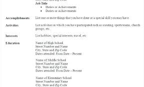 Sample Resume Pdf Format Perfect For Freshers File So Simple Template Idea