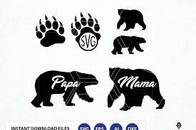 Bear Svg File Monogram