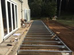 Distance Between Floor Joists On A Deck by Boxspan Steel Deck U0026 Verandah Floor Frames Non Combustible Spantec