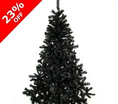 Balsam Christmas Trees Uk by 6ft Black Artificial Christmas Tree By Shatchi Super Sale Store