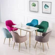 moderne nordic ins design padded esszimmer stuhl mode kaffee stühle klar wohnzimmer stuhl freizeit stuhl möbel loft stühle