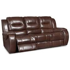 Corinthian Power Headrest Recline Sofa