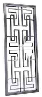 casa padrino luxus edelstahl wandspiegel silber 85 x 6 x h 220 cm designer spiegel garderobenspiegel wohnzimmer spiegel