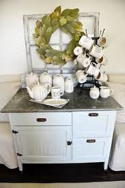 Ethan Allen Painted Dry Sink by Chalk Paint Dry Sink Coffee Bar Wet Bar Changing Table The