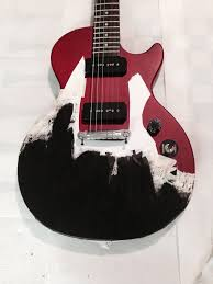 Picture Of Painting The Guitar