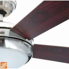 Hunter Contempo Ceiling Fan by Hunter Contempo 52 In Indoor Brushed Nickel Ceiling Fan With
