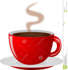 Hot Cup Stock Illustration Red Clipart Coffee Image
