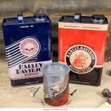 Harley Davidson Bath Decor by Harley Davidson Nostalgic Storage Canisters Set Bar Decor