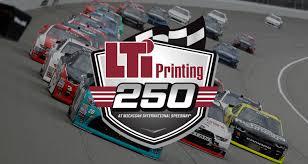 100 Timmons Truck Center LTi Printing 250 Entry List NASCAR Xfinity Series MRN