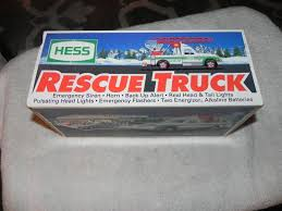 Hess Rescue Truck New In Box 1994 Battery Operated Cool Truck ... Hess Truck 1994 Nib Non Smoking Vironment Lights Horn Siren 2017 Dump With Loader Trucks By The Year Guide Toys Values And Descriptions 911 Emergency Collection Jackies Toy Store Toys Hobbies Cars Vans Find Products Online At 1991 Commercial Youtube 2006 Chrome Special Edition Nyse Mini Vintage Rare Hess Toy Truck Rescue New In Box W Old 2004 Miniature Pinterest 1990 Tanker