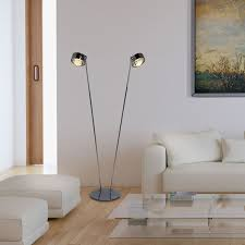 top light stehleuchte leseleuchte puk maxx floor 2 armig je 1250mm led oder gy6 35