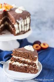 schokoladentorte mit mascarpone frischkäse creme