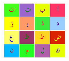 Free Arabic Alphabet Letter Wall Posters