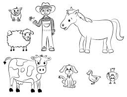Coloring Pages Animals Hard Free Farm Animal For Adults Pictures Of
