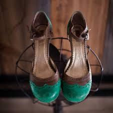 Beautiful Vintage Wedding Shoes In Verdant Green Photo By Corey Lynn Tucker Photography As