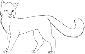 Coloring Sheets The Art Gallery Warrior Cat Pages