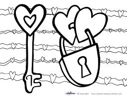 More Images Of Valentine Printable Coloring Pages
