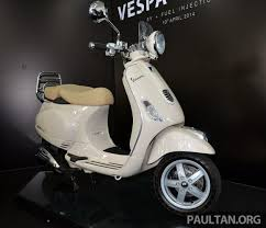 Vespa LXV 150 3V Launched Retro Looks Fuel Injection