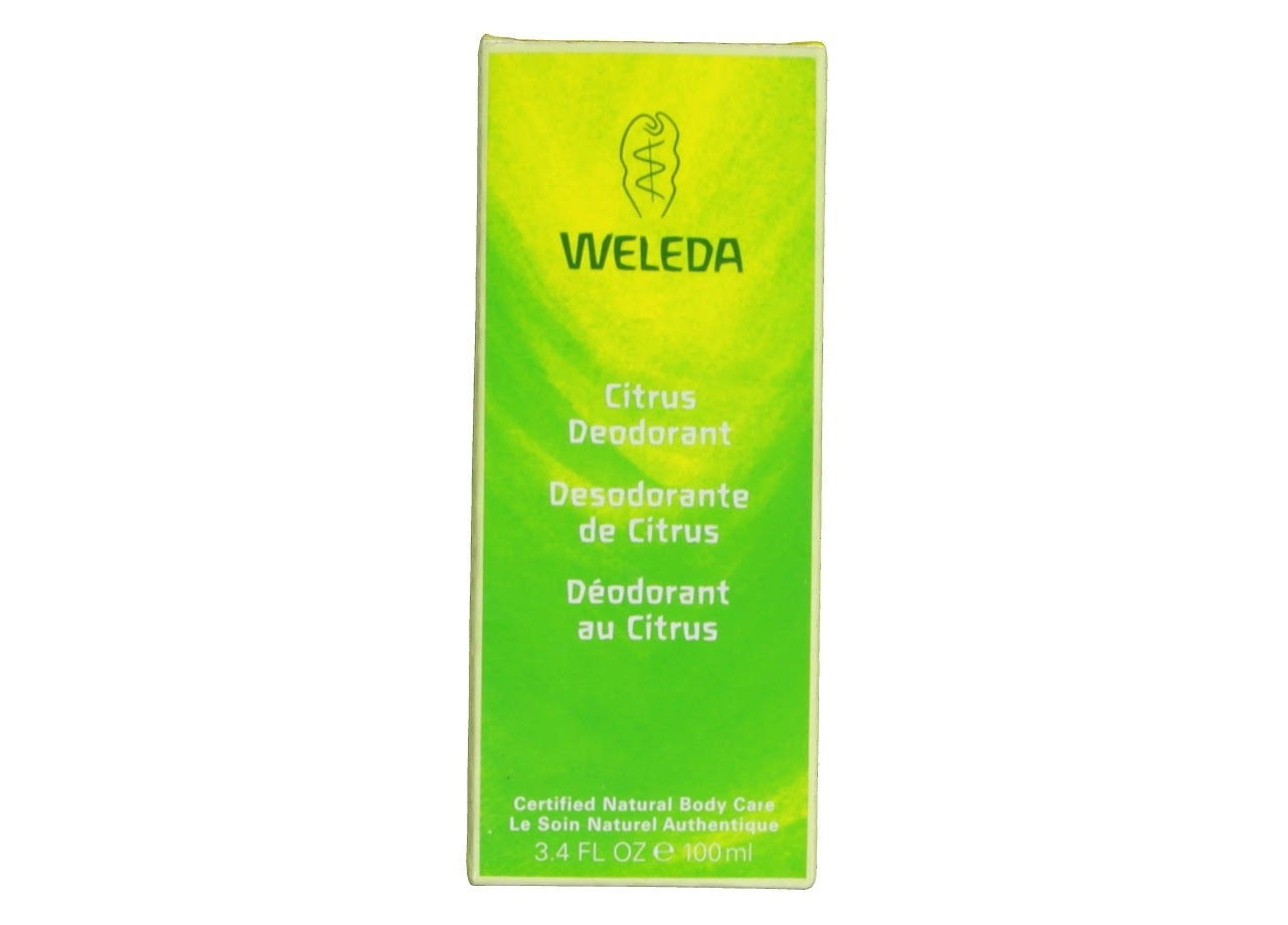 Weleda Citrus Refreshing Deodorant Spray - 3.4oz
